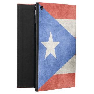 プエルトリコのグランジな旗 iPad AIRケース