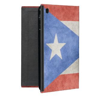 プエルトリコのグランジな旗 iPad MINI ケース