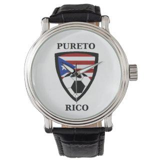 プエルトリコのサッカー 腕時計