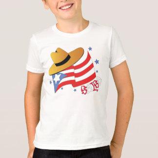 プエルトリコのサルサ Tシャツ