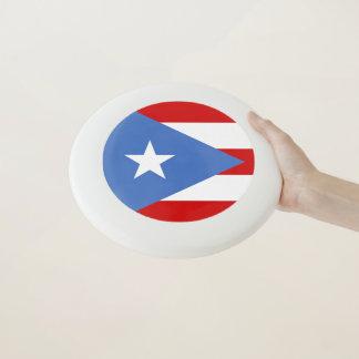 プエルトリコのスポーツの旗 Wham-Oフリスビー
