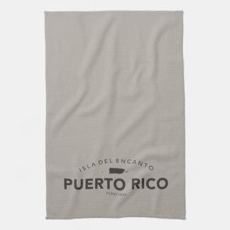 プエルトリコのバーか台所 キッチンタオル