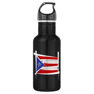 プエルトリコのブラシの旗 ウォーターボトル
