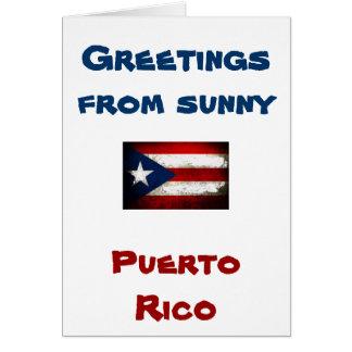 プエルトリコのプライド カード