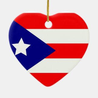 プエルトリコのプライド セラミックオーナメント