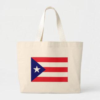 プエルトリコのプライド ラージトートバッグ