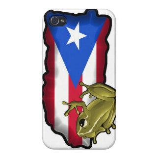 プエルトリコのプライド iPhone 4 COVER