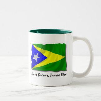 プエルトリコのマグ: Aguas Buenas ツートーンマグカップ