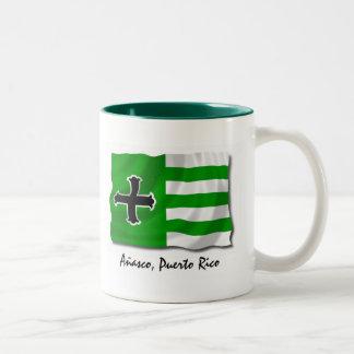 プエルトリコのマグ: Anasco ツートーンマグカップ