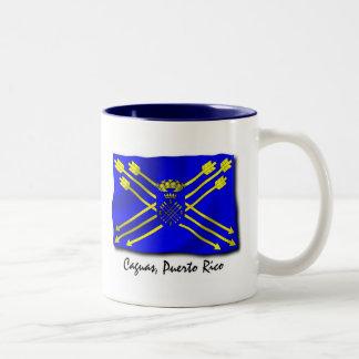 プエルトリコのマグ: Caguas ツートーンマグカップ