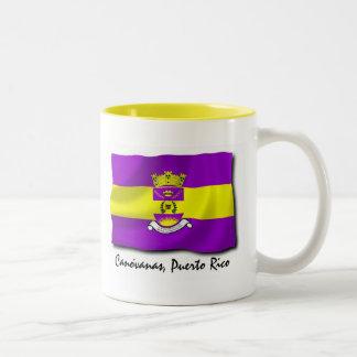 プエルトリコのマグ: Canovanas ツートーンマグカップ