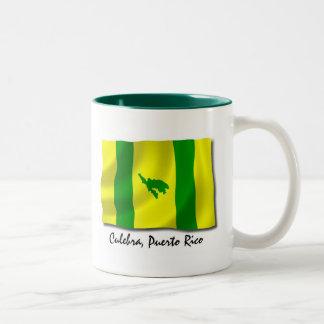 プエルトリコのマグ: Culebra ツートーンマグカップ