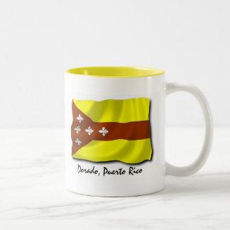 プエルトリコのマグ: Dorado ツートーンマグカップ