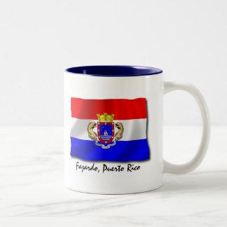 プエルトリコのマグ: Fajardo ツートーンマグカップ
