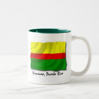 プエルトリコのマグ: Humacao ツートーンマグカップ