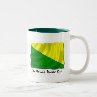 プエルトリコのマグ: Las Marias ツートーンマグカップ