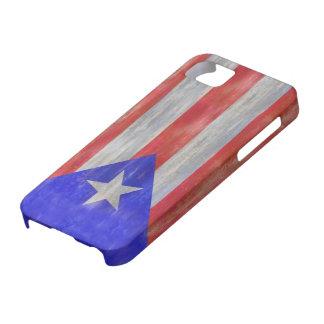 プエルトリコの動揺してなプエルトリコの旗 iPhone SE/5/5s ケース