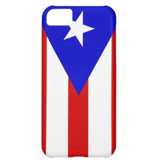 プエルトリコの国旗の箱 iPhone5Cケース