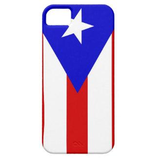 プエルトリコの国旗の箱 iPhone SE/5/5s ケース