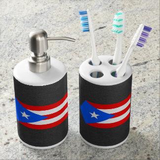 プエルトリコの国旗 バスセット