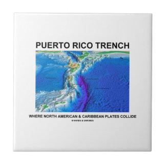 プエルトリコの堀北米人カリブ タイル