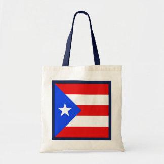 プエルトリコの旗のバッグ トートバッグ
