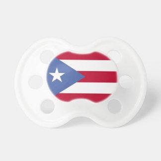 プエルトリコの旗のベビーの調停者 おしゃぶり