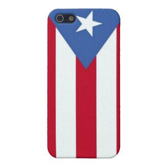 プエルトリコの旗の箱の精通したiPhone 5カバー iPhone 5 Cover