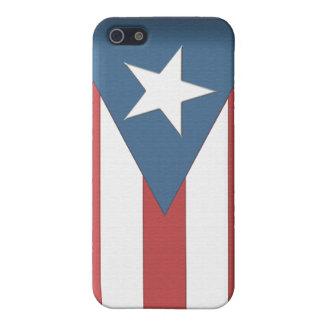 プエルトリコの旗の箱 iPhone 5 ケース