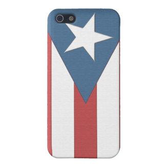 プエルトリコの旗の箱 iPhone 5 COVER