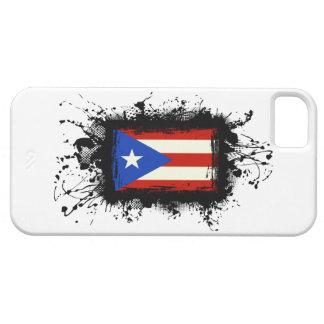 プエルトリコの旗のiPhone 5の場合 iPhone SE/5/5s ケース