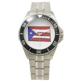 プエルトリコの旗 ウォッチ