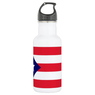 プエルトリコの旗 ウォーターボトル