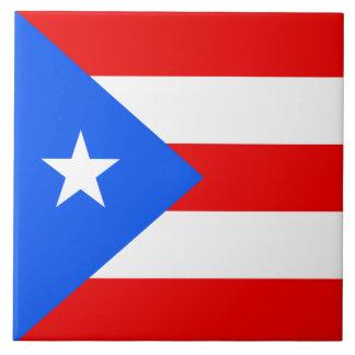 プエルトリコの旗 タイル