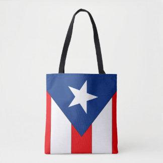 プエルトリコの旗 トートバッグ