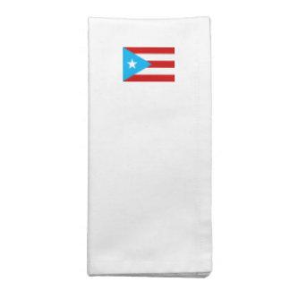 プエルトリコの旗 ナプキンクロス