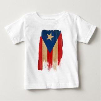 プエルトリコの旗 ベビーTシャツ