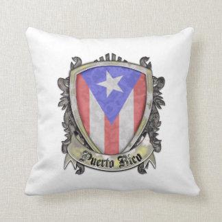 プエルトリコの旗-盾の頂上 クッション