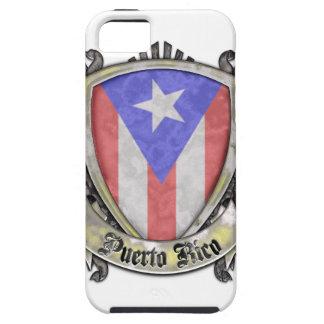 プエルトリコの旗-盾の頂上 iPhone SE/5/5s ケース