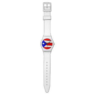 プエルトリコの旗 腕時計