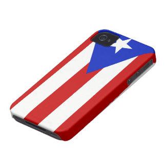 プエルトリコの旗 Case-Mate iPhone 4 ケース