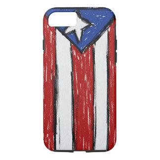 プエルトリコの旗 iPhone 8/7ケース