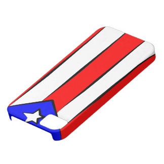 プエルトリコの旗 iPhone SE/5/5s ケース