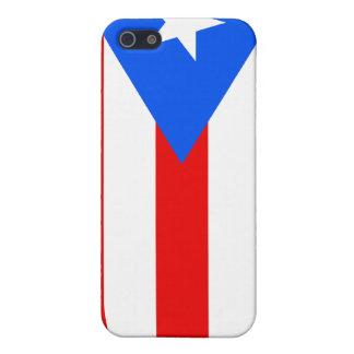 プエルトリコの旗iPhone4 iPhone 5 カバー
