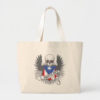 プエルトリコの星のトートバック ラージトートバッグ