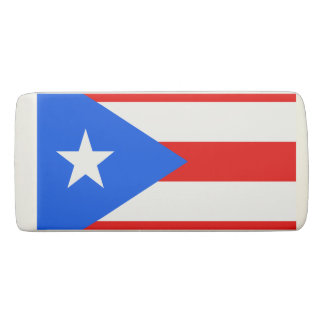 プエルトリコの消す物の旗 消しゴム