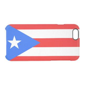 プエルトリコの澄んなiPhoneの場合の旗 クリアiPhone 6/6Sケース