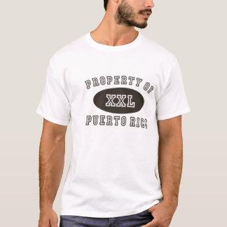 プエルトリコの特性 Tシャツ
