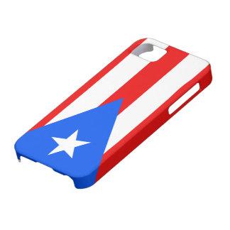 プエルトリコの穹窖IDのiPhone 5の場合の旗 iPhone SE/5/5s ケース
