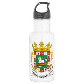 プエルトリコの紋章付き外衣 ウォーターボトル